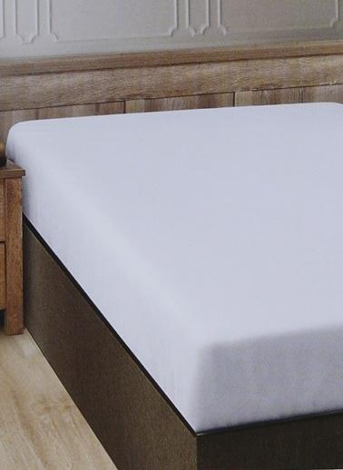 Boyner Evde Boyner Evde 160 X 200 Tek Kişilik Beyaz Fıtted Çarşaf Beyaz